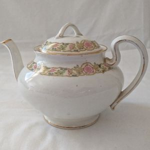 Antique Johnson Brothers England Teapot Cabbage Ro